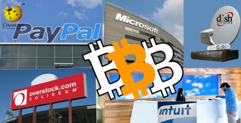 World Leading Giants Now with Bitcoin